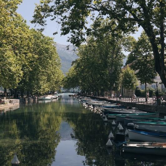 Annecy köprüleri, Fransa